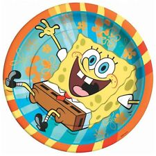SPONGEBOB SQUAREPANTS PARTY SUPPLIES DINNER PLATES - PACK OF 8