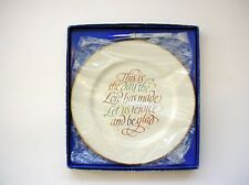 """""""This Is The Day The Lord Has Made"""" Decorative Celebrations Plate New in Box"""