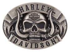 Harley-Davidson Men's The Beast Belt Buckle, Antique Nickle Finish HDMBU11499
