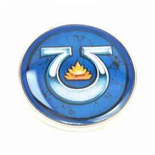 Genuine Warhammer Ultramarines Chapter Badge Pin Badge Gift Games Workshop