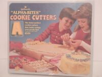 Vintage Hallmark Alpha-Bites Cookie Cutters-(MISSING D & L)-EUC-Free Shipping