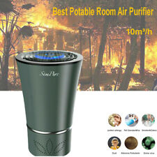 Air Purifiers, Mini Portable True Hepa Air Cleaner for Car Home, Bedroom, Office