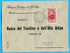 1932 P.AEREA GARIBALDI c.50  ISOLATO E USATO COME ORDINARIO (278649)