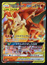 JAPANESE Pokemon Card Charizard & Braixen GX 008/064 RR SM11a Remix Bout NM/M
