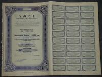 S. A. C. I. Societe Anonyme de Credit Commercial & Industriel 1949
