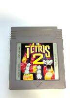 Tetris 2 ORIGINAL Nintendo Gameboy Game Tested + Working & Authentic!