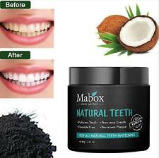 100% NATURAL Charcoal Teeth Whitening Activated Powder THAT WORKS Fresh Breath