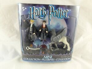 Harry Potter Mini Figurines Collection Series 1 Harry Melfor Buckbeak Figures