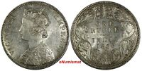 India-British Victoria Silver 1882 (B) Rupee aUNC/UNC KM# 492 (18 240)