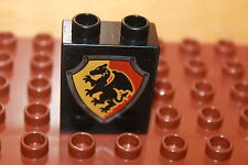 Lego Duplo Ritterburg 4779 1 x Drachen Wappen Stein 2 Noppen (hoch) Burg Castel