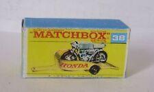 Repro Box Matchbox 1:75 Nr.38 Honda Trailer neuer