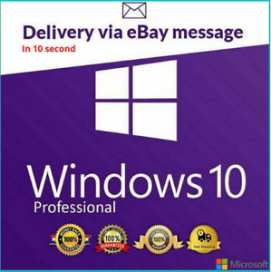 Window$🅢10 Pr0fessional💯🌟 Key🔑✅Genuine License Pr0 Key🌟✅ACTIVATION 32/64 bi
