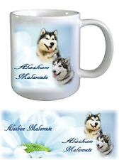 Alaskan Malamute Dog Ceramic Mug by paws2print