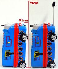 "Kid Gift Wheeled Rolling 19"" Suitcase Travel Bag Luggage 4-Wheel Trolley -THOMAS"