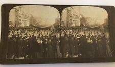 Stereoscope Card: President Teddy Roosevelt's Inauguration Parade on Penn. Ave