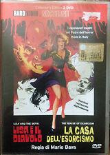 LISA E IL DIAVOLO  LA CASA DELL'ESORCISMO DVD FUORI CATALOGO