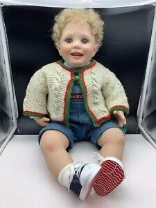 Donna Rubert Künstlerpuppe Vinyl Puppe 72 cm. Top Zustand