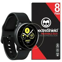 (8-PACK) For Samsung Galaxy Watch Active 2 40mm Screen Protector Spectre Shield