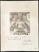 1926 - Litografia citazione Vicomte Cava, Arcivescovo d'York - WW1