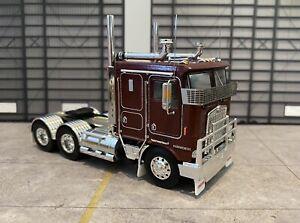Kenworth Trucks K100G 1/50 Diecast Vintage Burgundy