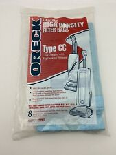 8 Pack Genuine ORECK High Density Type CC Filter Bags
