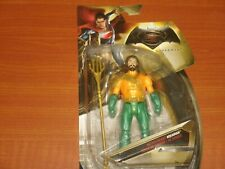 "AQUAMAN 'Battle Ready' DC Comics BATMAN v. SUPERMAN Collectible 6"" Action Figure"