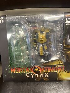 Storm Collectibles 1/12 Mortal Kombat Cyrax OPENED USA SELLER