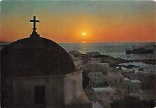BG28405 mykonos sun set  greece