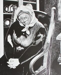 Aubrey Kurlansky Singapore Artist 1983 Limited Edition black/white Art Print