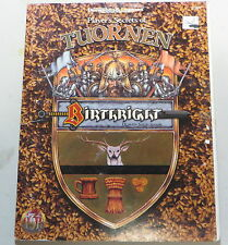 AD&D Birthright Player's Secrets of Tuornen 3107  used