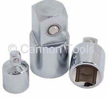 "Neilsen Ratchet Socket Adapt 1/4"" 3/8"" 1/2"" & 3/4"" Drive Chrome Vanadium / 1566"