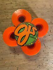 OJ III Hot Juice Orange Juice Skateboard Wheels 60mm 78a - the original!