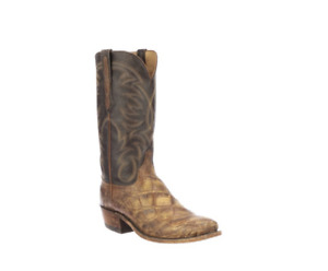New Men's Lucchese  N1197.73 Rodney cowboy boot