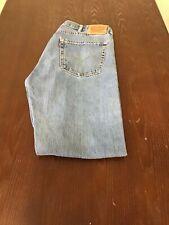 Mens Levis 505 Jeans Denim SZ 38 X 33 Blue Medium Wash Regular Fit Appearance