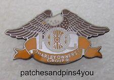 Harley Davidson HOG Harley Owners Group Pin Enamel Pin. New! Free UK P&P!