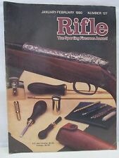Rifle Magazine January February 1990 The Sporting Firearms Journal Number 127