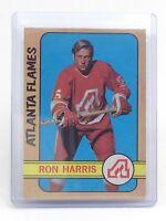 1972-73 Ron Harris #5 Atlanta Flames OPC O-Pee-Chee Hockey Card I188