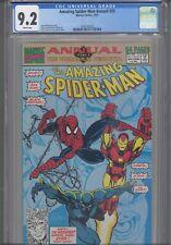 Amazing Spider-Man Annual #25 CGC 9.2 1991 Marvel Iron Man Black Panther App
