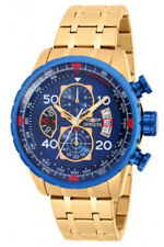 Invicta Men's Aviator Quartz Chrono 100m Gold Tone Stainless Steel Watch 19173