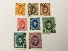 old stamps  EGYPT    x  8
