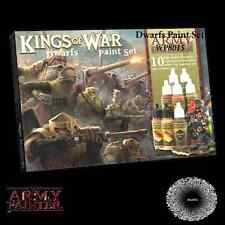 The Army Painter BNIB Warpaints Kings of War Dwarfs paint set APWP8015