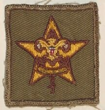 CANADIAN SCOUTS/GUIDES BADGE no text MINT VINTAGE approx 50 x 50mm