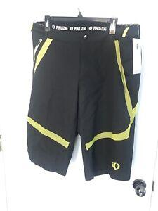 Men's Pearl Izumi Divide Cycling Shorts XL NWT Black Like Green Liner Shorts