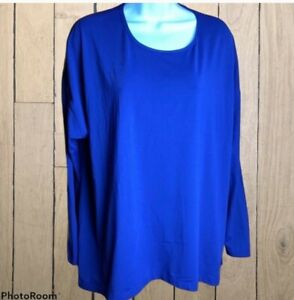 Mens 2X Lululemon Long Sleeve Shirt blue