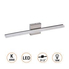 80CM LED Vanity Light Wall Lamp Bathroom Makeup Stainless Steel Warm White