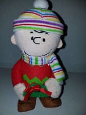 """Peanuts """"CHARLIE BROWN""""  Animated Christmas Dancing Moving Figure with Batteries"""