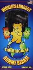 World's Largest Gummy Bear, Approx 5-pounds Giant Gummy Bear - Cherr... - NO TAX