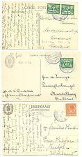 NEDERLAND-S.M.N. 1930/34 =JOHAN VAN OLDENBARNEVELT =3 x  PCC   POSTAGENT   FINE