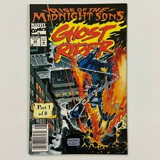 GHOST RIDER 28 1ST APPEARANCE LILITH NEWSSTAND (1992, MARVEL COMICS)