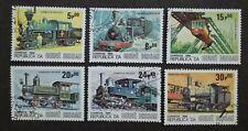 Guine Bissau 1984 Locomotives - 6v Used